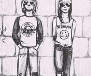 gnr nirvana friends image