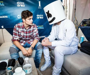 marshmello, dj, and martin garrix image