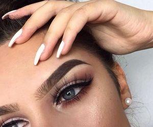 beautiful, eyeliner, and gorgeous image