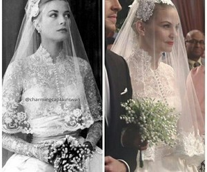 grace kelly, once upon a time, and captain swan image