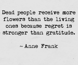 quotes, anne frank, and gratitude image