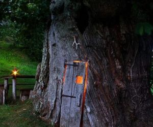doorway, faerie, and tree home image