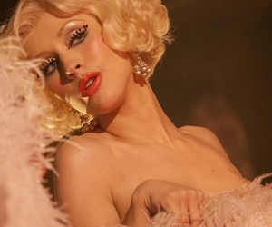 blonde, burlesque, and christina aguilera image