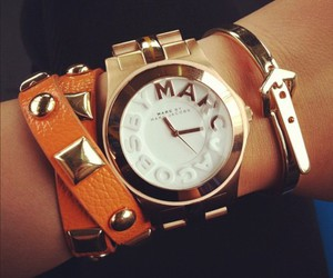 watch, marc jacobs, and bracelet image