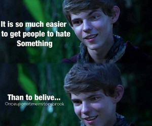 peter pan and once upon a time image