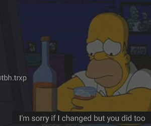 quotes, sayings, and simpsons image