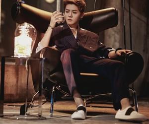 exo, lu, and luhannie image