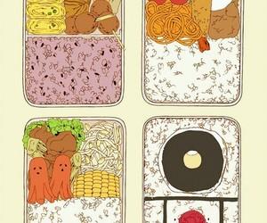 food, bento, and anime image
