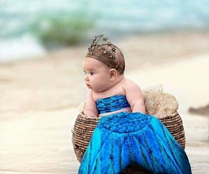 mermaid and baby image