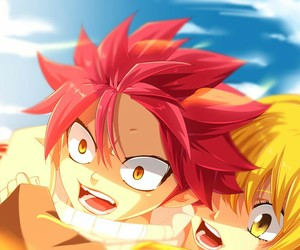 fairy tail, nalu, and love image