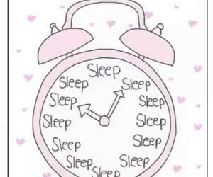 sleep and pink image