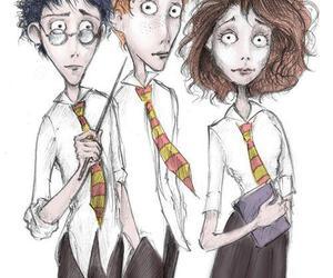 harry potter, tim burton, and hermione granger image