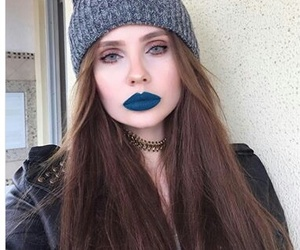 blue, blue eyes, and site model image