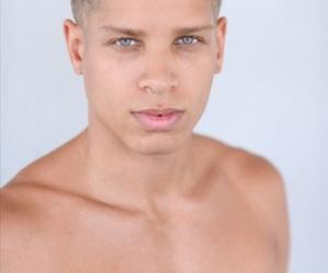 bae, mulatto, and blue eyes image
