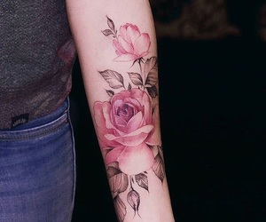 tattoo, flowers, and Tattoo Designs image