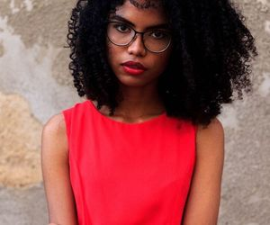 curly hair, natural hair, and curly girl image