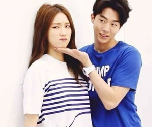 kdrama, lee sung kyung, and couple image