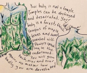 quotes, body, and forest image