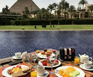 egypt, food, and drink image