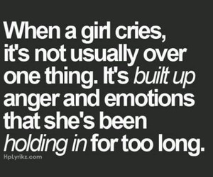 quotes, girl, and cry image