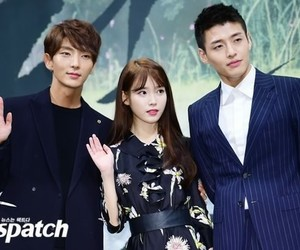 lee jun ki, iu, and lovers image