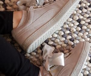 puma, shoe, and suede image