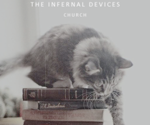 cat, church, and the mortal instruments image