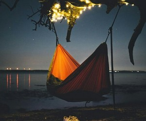 sea and night image