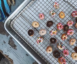 asian, donuts, and food image