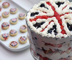 cake, food, and england image