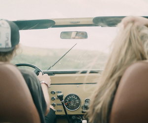 blonde, boy, and driving image