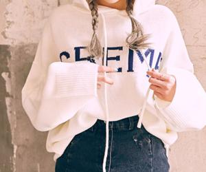 braids, denim, and fashion image