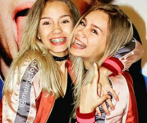 girls, lena, and lisa image