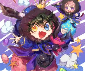 valkryie, itsuki shu, and ensemble stars image