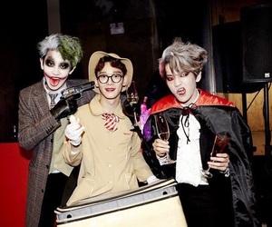 exo, Chen, and chanyeol image