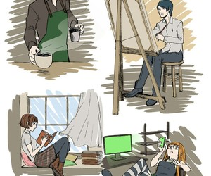 aesthetic, protagonist, and persona 5 image