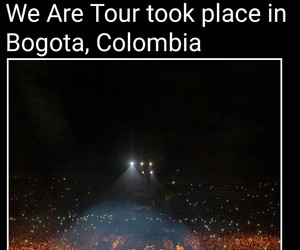 where we are tour and one direction image