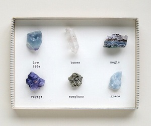 stone, crystal, and magic image