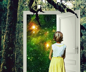 Collage, doorway, and portal image