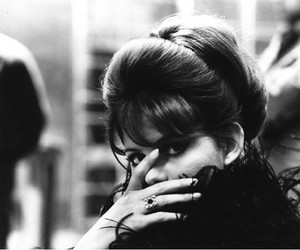 claudia cardinale, actress, and black and white image