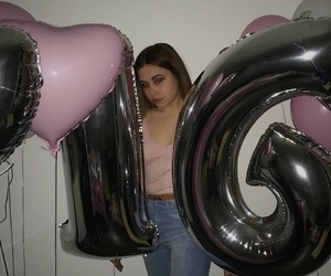 16, balloons, and birthday image
