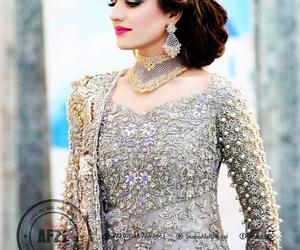 asian, bride, and pakistan image