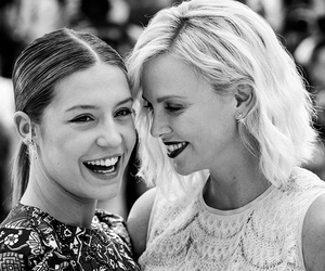 Charlize Theron and adele exarchopoulos image