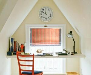 farmhouse, home decor, and workspace image