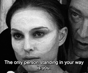 black and white, black swan, and movie image