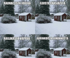 christmas, easter, and finland image