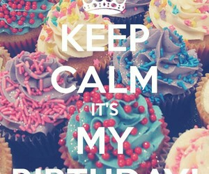 birthday and keep calm image