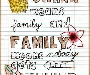 family, ohana, and quotes image