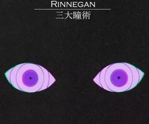 rinnegan, anime, and naruto image