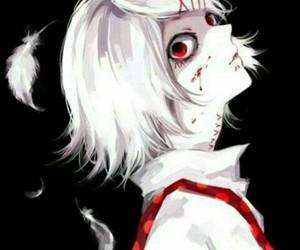 tokyo ghoul, anime, and anime boy image
